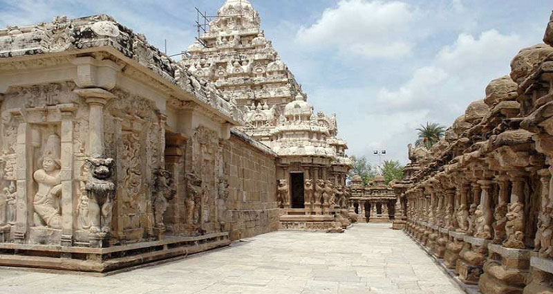 Cab Rental for kanchipuram tour package